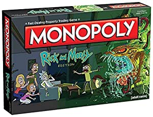 USAopoly MN085-434 Monopoly: Rick and Morty