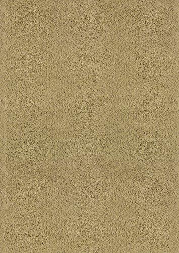 United Weavers of America Aria Shag Bereich Teppich Casual 5' x 8' Beige (5x8 Bereich Teppich)