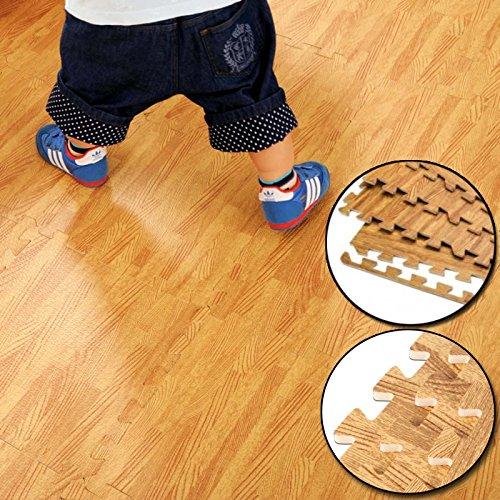FB FunkyBuys® Wood Effect 16 SQ....
