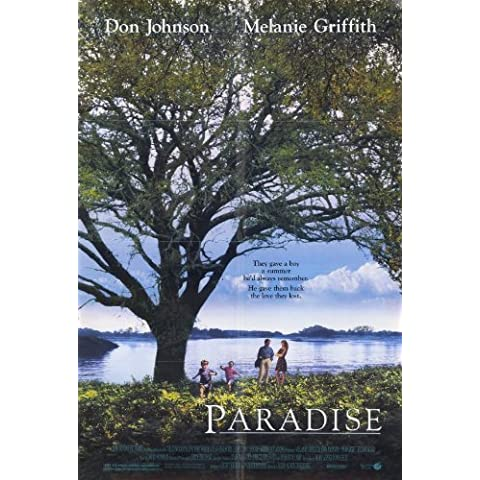 Póster de película 11 x 17 In Paradise - 28 cm x 44 cm Melanie Griffith Don Johnson Elijah Wood Thora Birch Sheila McCarthy EVA Gordon