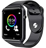 SUPPLE Samsung Galaxy M10 Compatible A1 Bluetooth 4G Touch Screen Smart Watch with Camera, SIM, SD Card, Multi Language…