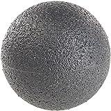 newgen medicals Faszienball: Massage-Ball und Faszien-Trainer für Rücken & Co, Ø 8 cm, schwarz (Faszienkugel)