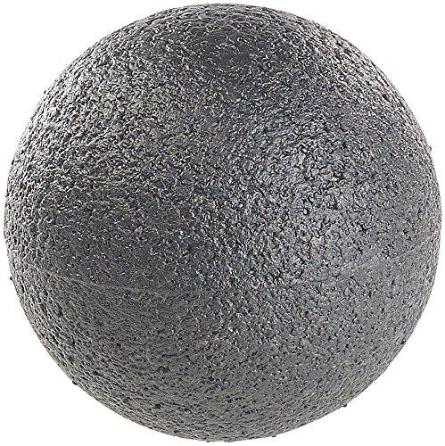 ageball: Massage-Ball und Faszien-Trainer für Rücken & Co, Ø 8 cm, schwarz (Faszienkugel) ()