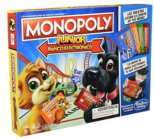 Monopoly Junior Spiel - elektronisch Banking