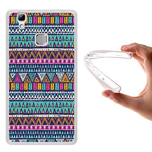 WoowCase Doogee X5 Max Hülle, Handyhülle Silikon für [ Doogee X5 Max ] Azetikischer Stamm Handytasche Handy Cover Case Schutzhülle Flexible TPU - Transparent