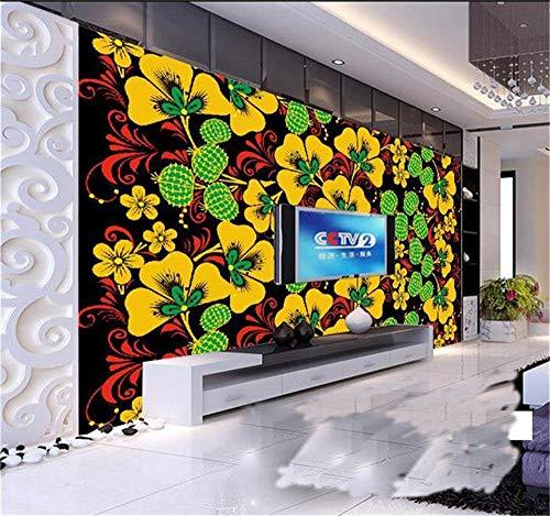 ZAMLE 3D Wallpaper Fototapete Benutzerdefinierte Mural Wohnzimmer Klassischen Klee Europäischen Stil Malerei Sofa Tv Hintergrund Wandaufkleber, 300X210 Cm (118,1 Von 82,7 In) 8120 Stereo
