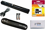 VuPoint Solutions PDS-ST415-VP Handheld Magic Wand Portable Scanner with Protective Carrying Case, 8GB Micro SD Card, and OC
