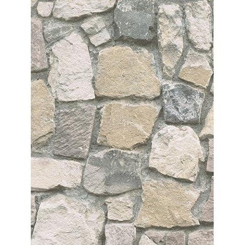 AS Creation Stein Wand Muster Rustikale Ziegel Texturiert Wandtapete 692412