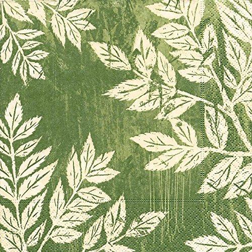 20 Servietten Blätter-Harmonie 33x33cm / Blätter / Herbst 33x33cm - Harmonie Blättern
