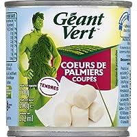 Géant Vert Coeurs de palmiers coupés La boite de 110g - Prix Unitaire - Livraison Gratuit Sous 3 Jours