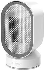 Heizlüfter dodocool Ventilator-Heizlüfter Mit PTC-Keramik Schnellheitzer Oszillationsfunktion 2 Stufe Warm & Natürlich Ideal  für vier Jahreszeiten
