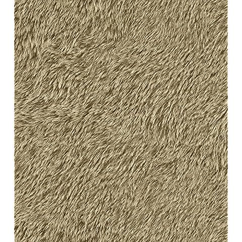 514513 - Wallpaper Foresta Nera crema scuro grigio effetto cappotto di pelliccia