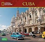 National Geographic Cuba 2018 Wall Calendar
