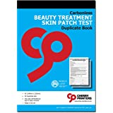 Cherry Carbonless NCR Beauty Treatment Skin Patch Test Duplicate Book A5 50 Sets
