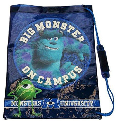 Childrens Kids Boys Girls Character Trainer / Gym / PE / PVC Swim School Bag (Monsters University PVC)