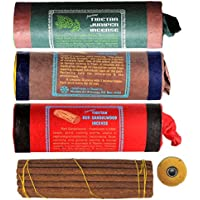 Tibetische Räucherstäbchen 3er Set Tibetan Juniper Incense - Red Sandalwood - White Sandalwood mit Dorje und Beutel preisvergleich bei billige-tabletten.eu