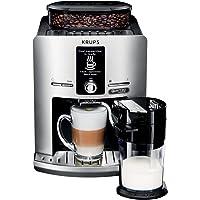 KRUPS Expresso Broyeur Espresseria Latt Espress Silver Cafetière Espresso Machine à café Grains Cappuccino YY4201FD…