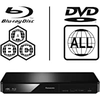 Panasonic DMP-BDT170EB Smart 3D 4K Upscaling ICOS Multi Region All Zone Code Free Blu-ray…