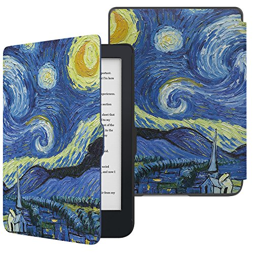 MoKo Case per Kobo Clara HD - Custodia Ultra Sottile Leggero per Kobo Clara HD 6' Tablet/e-Reader, Notte Stellata