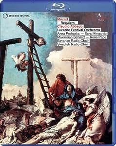 Mozart: Requiem [Anna Prohaska, Sara Mingardo, Miximilian Schmitt, Rene Pape, Claudio Abbado] [Accentus: ACC10258] [Blu-ray] [2013] [Region Free]
