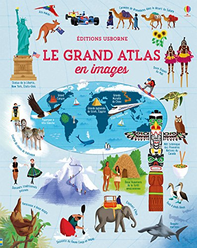 Le grand atlas en images par From Usborne