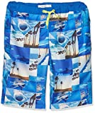 NAME IT Jungen Badeshorts Nitzartin Long Shorts NMT, Mehrfarbig (Nautical Blue), 140