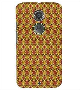 PrintDhaba Pattern D-5141 Back Case Cover for MOTOROLA MOTO X2 (Multi-Coloured)