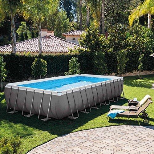 Intex 12-54978 Ultra Quadra II Frame Pool Set, 732 x 366 x 132 cm