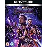 Avengers: Endgame 4K ULTRA HD BLU RAY