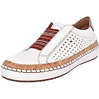 Chaussures Femme Légère et Confortable Mocassins Ajourees en Cuir Chaussures Souple Casual Baskets Trail Running…