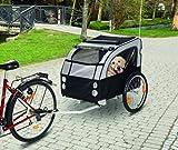TEFLON® Hunde Fahrrad Anhänger Fahrradanhänger Bis 40 KG belastbar - Hundebuggyfunktion möglich