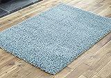 CrazyGadget® Large Snug Shaggy Rug High Deep Thick Pile Long Pile Modern Carpet 120cm x 170cm (Teal)