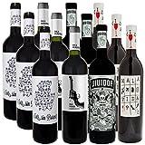 Weinpaket - Verrückte Weine   Bodegas Arráez   Trockener Rotwein aus Spanien   Probierpaket (Spar-Set mit 12 Flaschen)