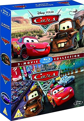 Cars & Cars 2 Box Set [Blu-ray] [2006] [Region Free]