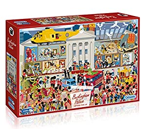 Gibsons Lifting The Lid-Buckingham Palace - Puzzle (1000 Piezas)