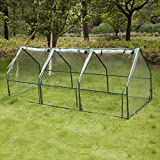 LDIW Invernaderos Jardin, Invernadero para Jardín Invernadero para Cultivo de Plantas,Transparente,240x90x90cm