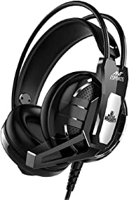 Ant Esports H520W Gaming Headset for PC / PS4 / Xbox One, Nintendo Switch, Computer and Mobile, World of Warships Edition– B