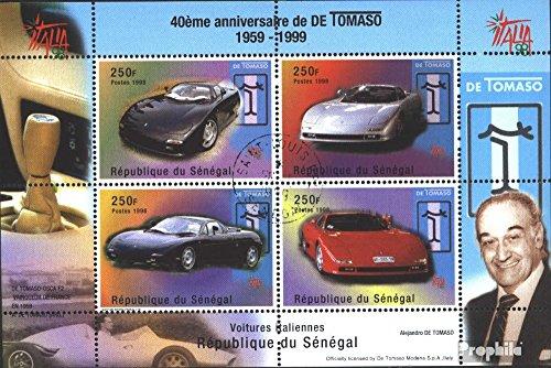 sellos-para-coleccionistas-senegal-bloque-83-completaedicion-matasellado-1999-fabricantes-de-automov