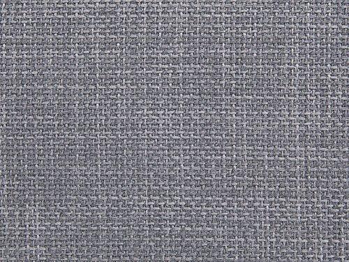 Beliani cama de agua tapizada gris 160x200 cm paris
