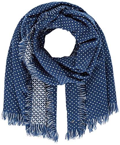 ESPRIT Accessoires Damen Schal 117EA1Q039, Blau (Blue 430), One Size