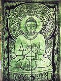 Póster de Buda, Indian Póster, religioso pared arte, Bohemian wohnheim adornos, Hippie decoración de pared pared Alfombra 76,2x 101,6cm