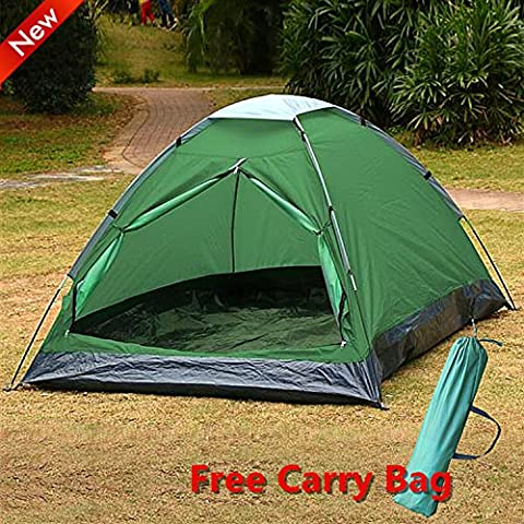 Popamazing Camping Tents 2 Man Waterproof Outdoor Folding Dome Tent
