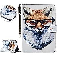 iPad Mini 4 Hülle,SainCat iPad Mini 4 Ledertasche Brieftasche im BookStyle PU Leder Karikatur Muster Hülle Wallet... preisvergleich bei billige-tabletten.eu