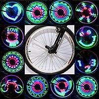 48 LED 48 modelli fai da te programmabile della bici ha parlato la luce della bici della bicicletta luce della