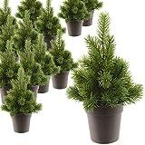 Künstlicher Weihnachtsbaum 22cm Tannenbaum Christbaum Tisch Weihnachten täuschend echt aussehend