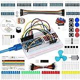 Emakefun Set/Kit für Arduino, Nano Projekt Das Vollständige Starter Kit mit Tutorial, Nano Mikrocontroller und viel Zubehör für Arduino Nano Board (Kompatibel UNO R3)