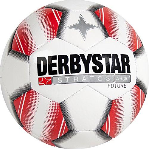 Derbystar Stratos S-Light Future, 3, weiß rot, 1057300131 (8 3 Ball Ventil)