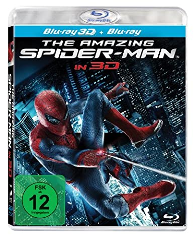 The Amazing Spider-Man [Blu-ray 3D +