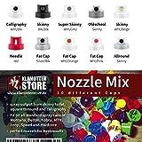 Sprühköpfe Klamottenstore.de Nozzle Mix - 10 verschiedene Spraycaps