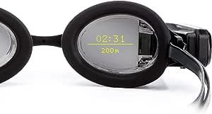 FORM Smart Swim Goggles, occhialini da Nuoto Intelligenti, Fitness Tracker per Piscina e Acqua Libera con Display Trasparente Che Mostra Le tue metriche Durante Il Nuoto